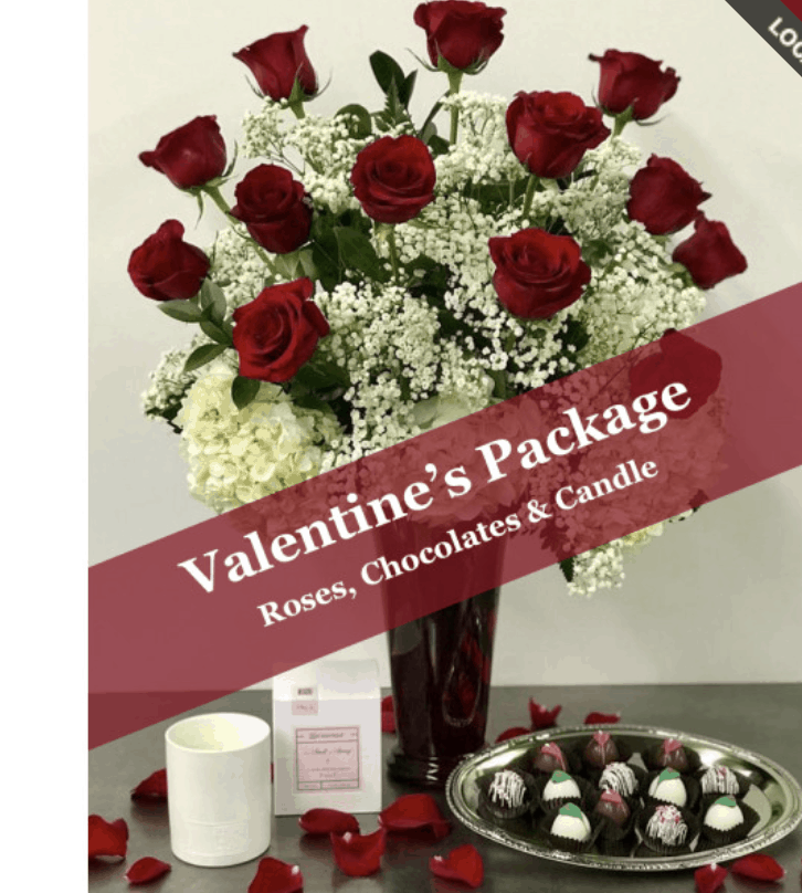 Our Valentine Packages Offer a Complete Gift